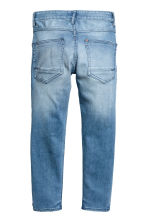 Relaxed Tapered fit Jeans - 淺丹寧藍 - Kids | H&M 3