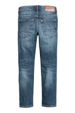 Skinny fit Worn Jeans - Dark denim blue -  | H&M CA 3
