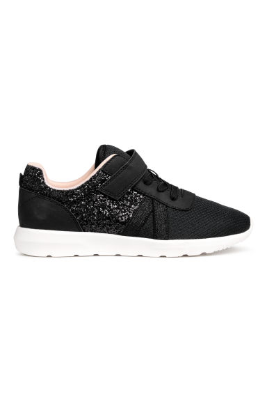 Glittery trainers - Black - Kids | H&M 1