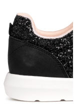 Glittery trainers - Black - Kids | H&M 4