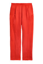 Pull-on trousers - Red - Ladies | H&M IE 2