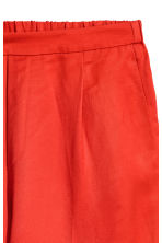 Pull-on trousers - Red - Ladies | H&M IE 3