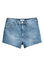 High Waist Jeansshorts - Denimblå - Ladies | H&M SE 2