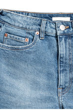 High Waist Jeansshorts - Denimblå - Ladies | H&M SE 4