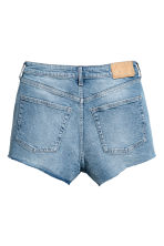 High Waist Denim shorts - Denim blue - Ladies | H&M 3