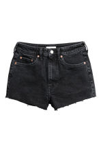 High Waist Denim shorts - Nearly black - Ladies | H&M 2