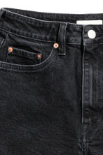 High Waist Denim shorts - Nearly black - Ladies | H&M 3