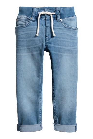 Slim Pull On Jeans - Bleu denim -  | H&M CH 1
