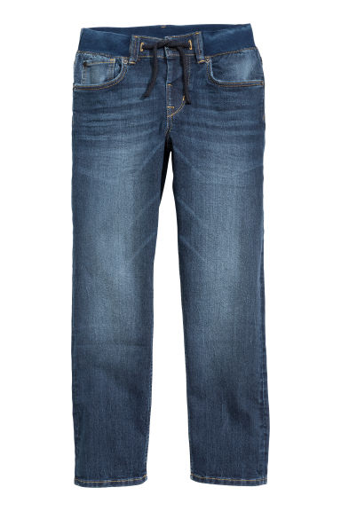 Slim Pull On Jeans - Mörkblå - BARN | H&M FI