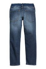 Slim Pull On Jeans - Azul oscuro -  | H&M ES 2