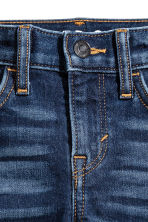 Super Soft Slim fit Jeans - Dark denim blue - Kids | H&M 4