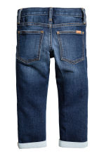 Super Soft Slim Fit Jeans - 深牛仔蓝 - Kids | H&M CN 3