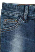 Relaxed Tapered fit Jeans - Denim blue - Kids | H&M CN 4