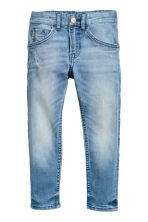 Relaxed Tapered fit Jeans - Azul denim claro - CRIANÇA | H&M PT 2