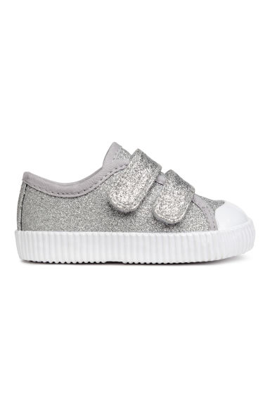 Baskets scintillantes - Argenté - ENFANT | H&M BE