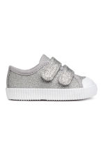 Sneakers glitter - Argentato -  | H&M IT 1