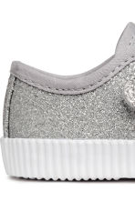 Sneakers glitter - Argentato -  | H&M IT 4