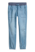 Pull-on trousers - Blue/Chambray - Kids | H&M 2