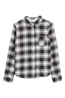 Generous fit Flannel shirt
