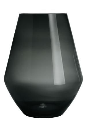 Grote glazen vaas - Antracietgrijs - HOME   H&M NL