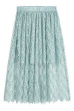 Lace Skirt - Dusky green - Ladies | H&M CA 2