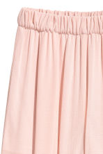Wide trousers with slits - Powder pink - Ladies | H&M CN 3