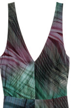 Long silk dress - Multicoloured - Ladies | H&M CN 3