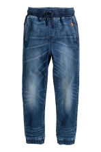 Super Soft denim joggers - Denim blue - Kids | H&M 2