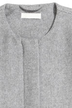 Wool-blend coat - Light grey - Ladies | H&M IE 2