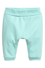 2-pack jersey trousers - Mint green - Kids | H&M 2
