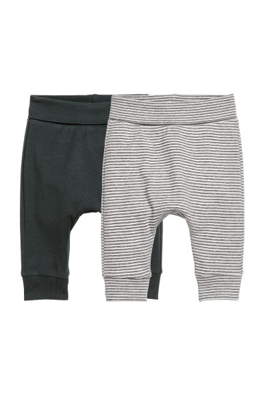 2-pack jersey trousers - Black - Kids | H&M