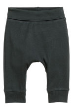 2-pack jersey trousers - Black - Kids | H&M 2