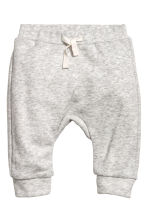 Hooded jacket and trousers - Natural white/Grey striped - Kids | H&M 2