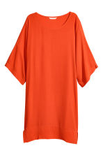 Short dress - Orange -  | H&M 2