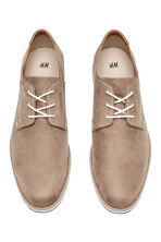 Derby shoes - Beige - Men | H&M CN 2