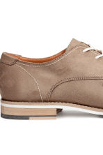 Derby Shoes - Beige - Men | H&M CA 4