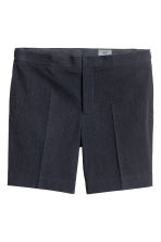 Cotton shorts - Dark blue - Men | H&M 2