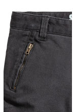 Twill trousers Shaped leg - Black - Kids | H&M 3