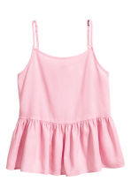 Flared top - Light pink - Kids | H&M 2