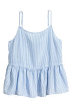 傘狀上衣 - Blue/White/Striped - Kids | H&M 2