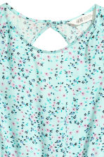 Patterned playsuit - Mint green/Floral -  | H&M 3