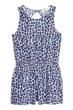 Patterned playsuit - Leopard print - Kids | H&M 2