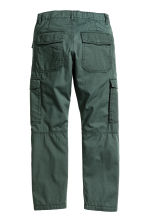 Lined cargo trousers - Dark green - Kids | H&M 3