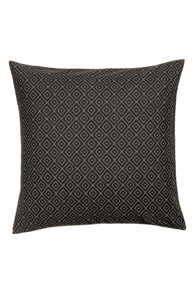 Housse de coussin en coton - Gris anthracite - Home All | H&M CA 1