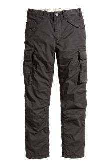 Husky Lined Cargo Pants