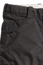 Lined cargo trousers - Black - Kids | H&M CN 2
