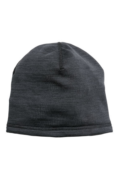 Fleece hat - Black marl -  | H&M CN