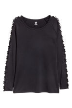 Running top - Black - Ladies | H&M 2