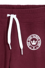 Fleece Joggers - Burgundy - Kids | H&M CA 2