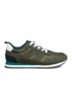 Mesh trainers - Khaki green - Kids | H&M CA 2